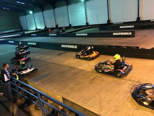 kart-race-win-for-charity-exeter